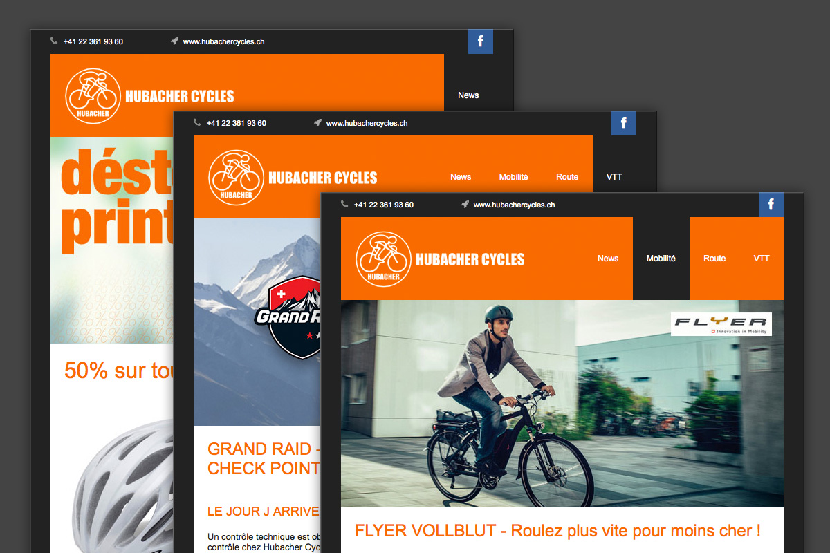 Hubacher Cycles eMailings
