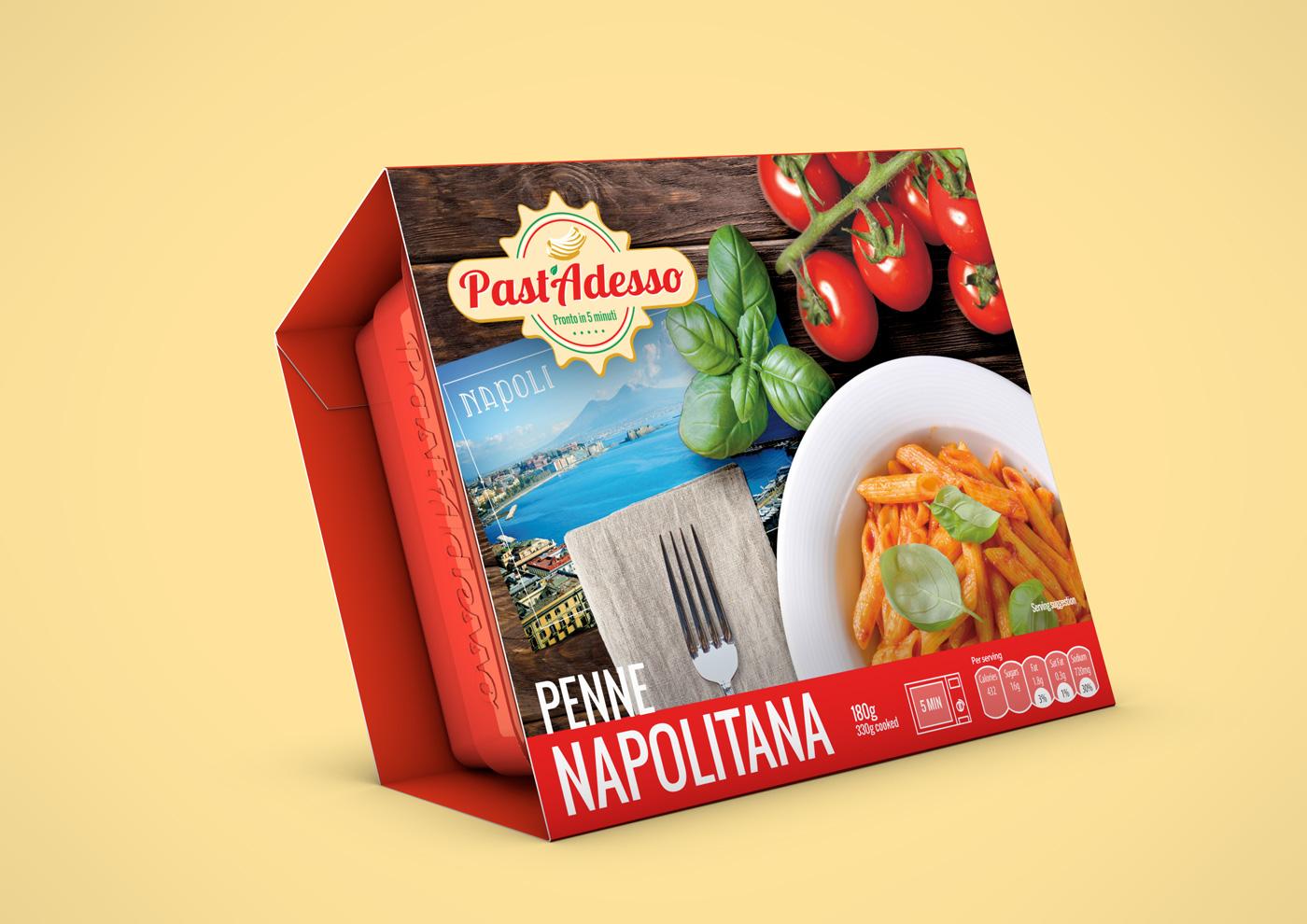 PastAdesso Penne Napolitana