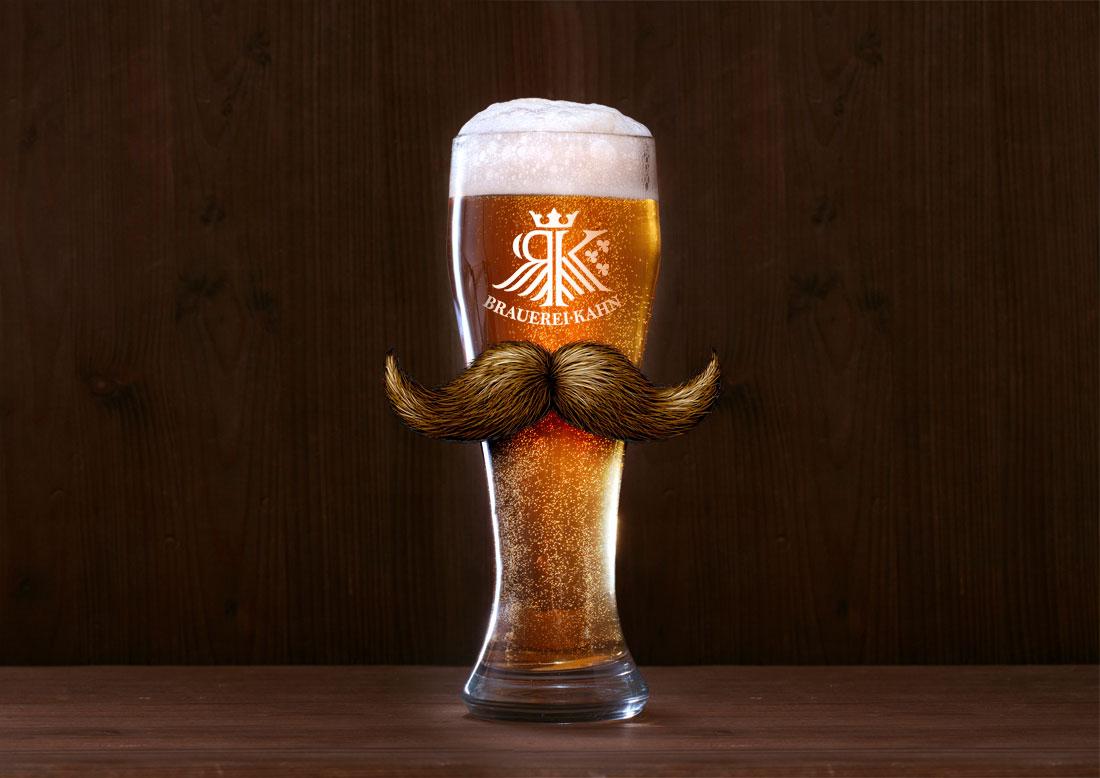 Kahn Weissbier Movember